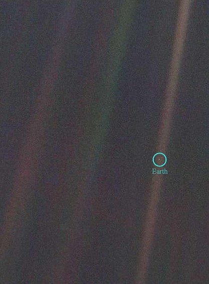 voyager 1 view of earth - photo #7